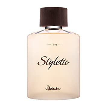 Amazon.com : Linha Styletto Boticario - Colonia Masculina 100 Ml - (Boticario Styletto Collection - Eau De Toilette For Men 3.38 Fl Oz) : Beauty
