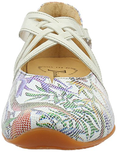 97 Chilli Think Bianco Kombi Femme Ballerines Multicolore qpYwOYzUS