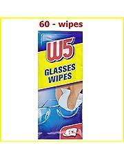 60 reinigingsdoekjes W5 Geschikt voor het reinigen van brillen, camera's, verrekijkers, autospiegels, helmvizieren, computerschermen, televisies, mobiele telefoons iPhone Android