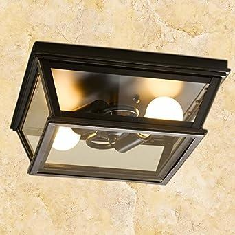 Le style européen moderne arrière lampe de plafond cuisine ...