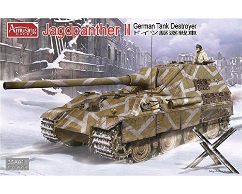 Amusing Hobby 1/35 German Tank Destroyer Jagdpanther II 35A0