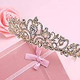 Didder Gold Crystal Tiara Crown Headband Princess