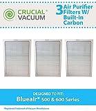 3 Air Purifier Filter For BlueAir 500/600 Series Fits 501,503,550E,601,603,650E