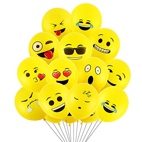 100 Ct 12 inches Cartoon Birthday Party Balloons
