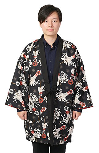 KIMONO story Japanese Men's Reversible Nightgown HANTEN ...