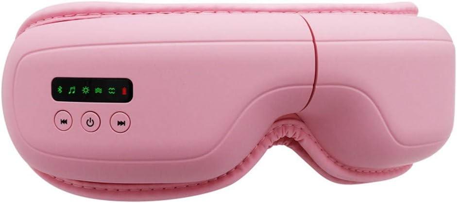 ZJ Masajeador De Ojos Inteligente Protector De Ojos Presión De Aire Masajeador De Ojos Compresa Caliente Protector De Ojos Bluetooth Eye Mask Masajeador De Protección para Los Ojos