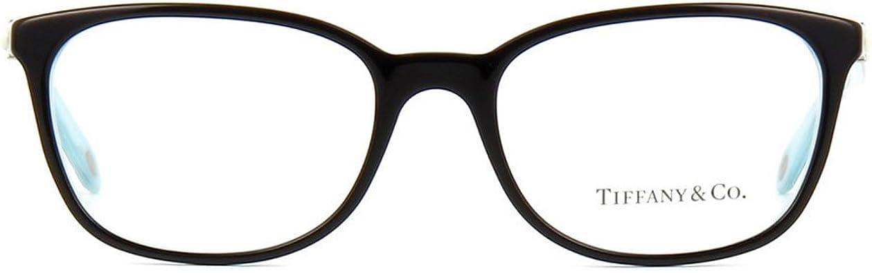 Amazon Com Tiffany Co Tf2109hb 8193 Eyeglass Frame Black Striped Blue 53mm Shoes