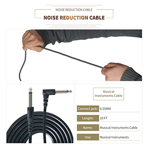 Buy electric guitar cable 10 ft