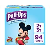Baby : Pull-Ups Cool & Learn Potty Training Pants for Boys, 2T-3T (18-34 lb.), 94 Ct. (Packaging May Vary)