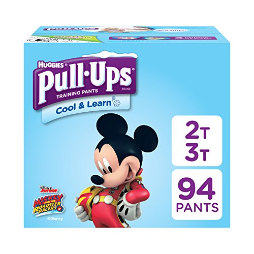 - Pull-Ups Cool & Learn Potty Training Pants for Boys, 2T-3T (18-34 lb.), 94 Ct. (Packaging May Vary)