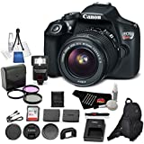 Canon EOS Rebel T6 Digital SLR Camera Bundle with EF-S 18-55mm f/3.5-5.6 IS II Lens with 32GB Memory Card + Filter Kit + More