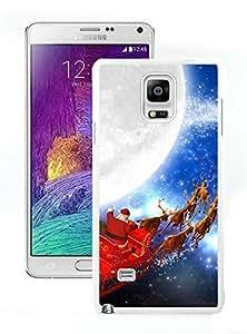 Fashion Style Santa Claus White Samsung Galaxy Note 4 Case 17