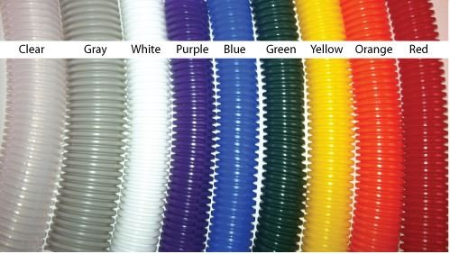 1/2'' Split Polyethylene Color Wire Loom (100 ft.), Purple