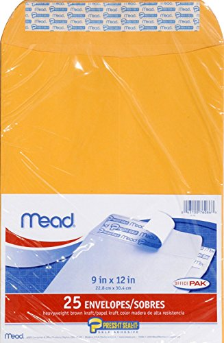Mead Press Envelopes Office 76086