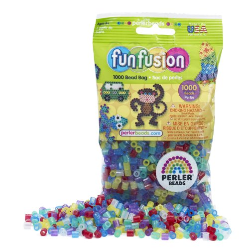 - Perler Beads Glitter Mix Bead Bag (1000 Count)