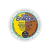 Snapple Keurig Single-Serve K-Cup Pods, Diet Half 'n Half Lemonade Iced Tea, 72 Count (6 Boxes of 12)