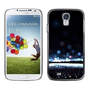 X-ray Impreso colorido protector duro espalda Funda piel de Shell para SAMSUNG Galaxy S4 IV / i9500 / i9515 / i9505G / SGH-i337 - Water Awe Inspiring Black