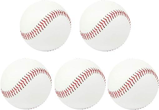 BESPORTBLE Pelota de Entrenamiento de béisbol Suave Adolescentes ...