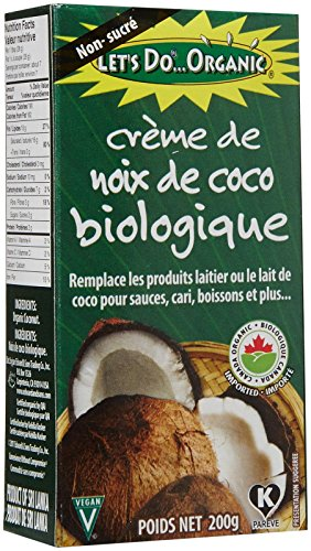 Lets Do Organics Coconut Creamed