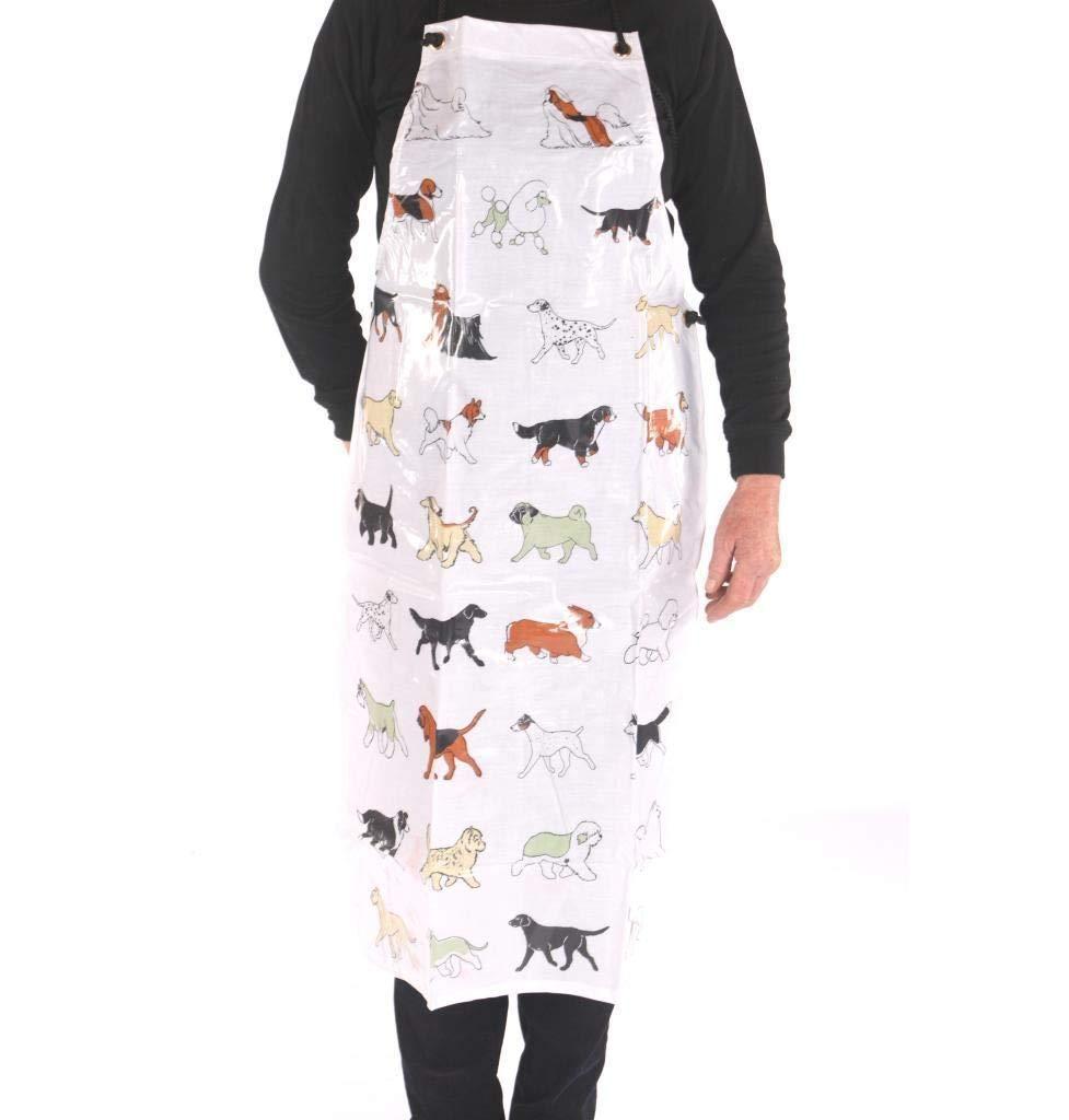 Generic on gown wear gardening cooking chef dog cat pet gardening apron waterproof grooming gown wear dog cat pet wat