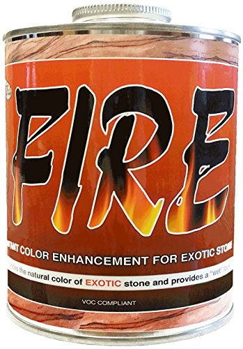 Stone Exotic - Superior FIRE Instant Stone Color Enhancement for Exotic Stone 1 QT.