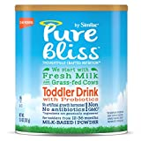 Pure Bliss by Similac Toddler Drink with Probiotics, Starts with Fresh Milk from Grass-Fed Cows, 12.4 ounces (Pack of 4)
