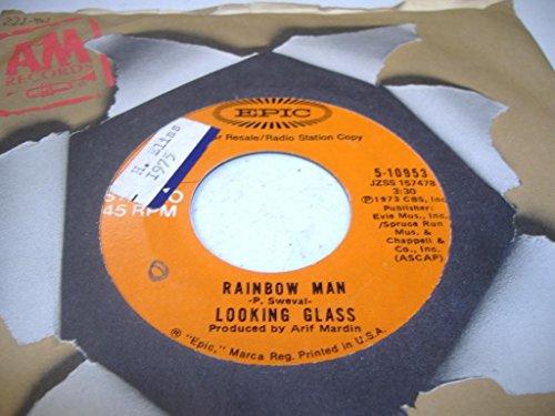 LOOKING GLASS 45 RPM Rainbow Man / Same
