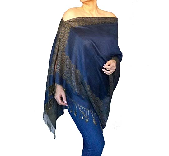 9063717f0d1 Image Unavailable. Image not available for. Color  Plus Size Shawl Wrap ...