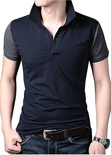 Heaven Days(ヘブンデイズ) ポロシャツ ゴルフウェア ゴルフシャツ 半袖 メンズ 1708F0014