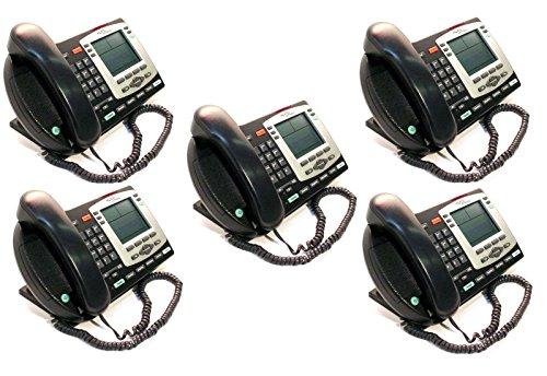 - Lot of 5 Nortel Ip 2004 NTDU92 Display Speaker Business Desk Phone