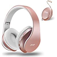 Zihnic zihus816 Over-Ear Wireless Bluetooth Headphones (Rose Gold)