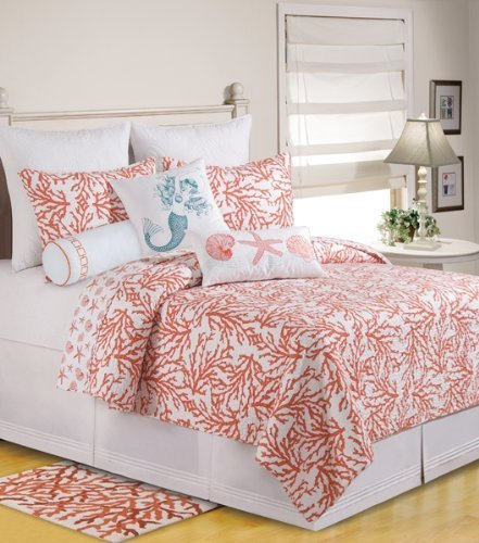 C&F Home Cora King Quilt - Coastal Theme