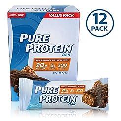 Pure Protein Bars, High Protein, Nutriti...
