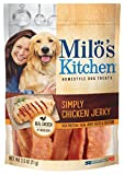 Milo'S Kitchen Simply Chicken Jerky Dog Treat, 2.5 Oz (Pack Of 12)