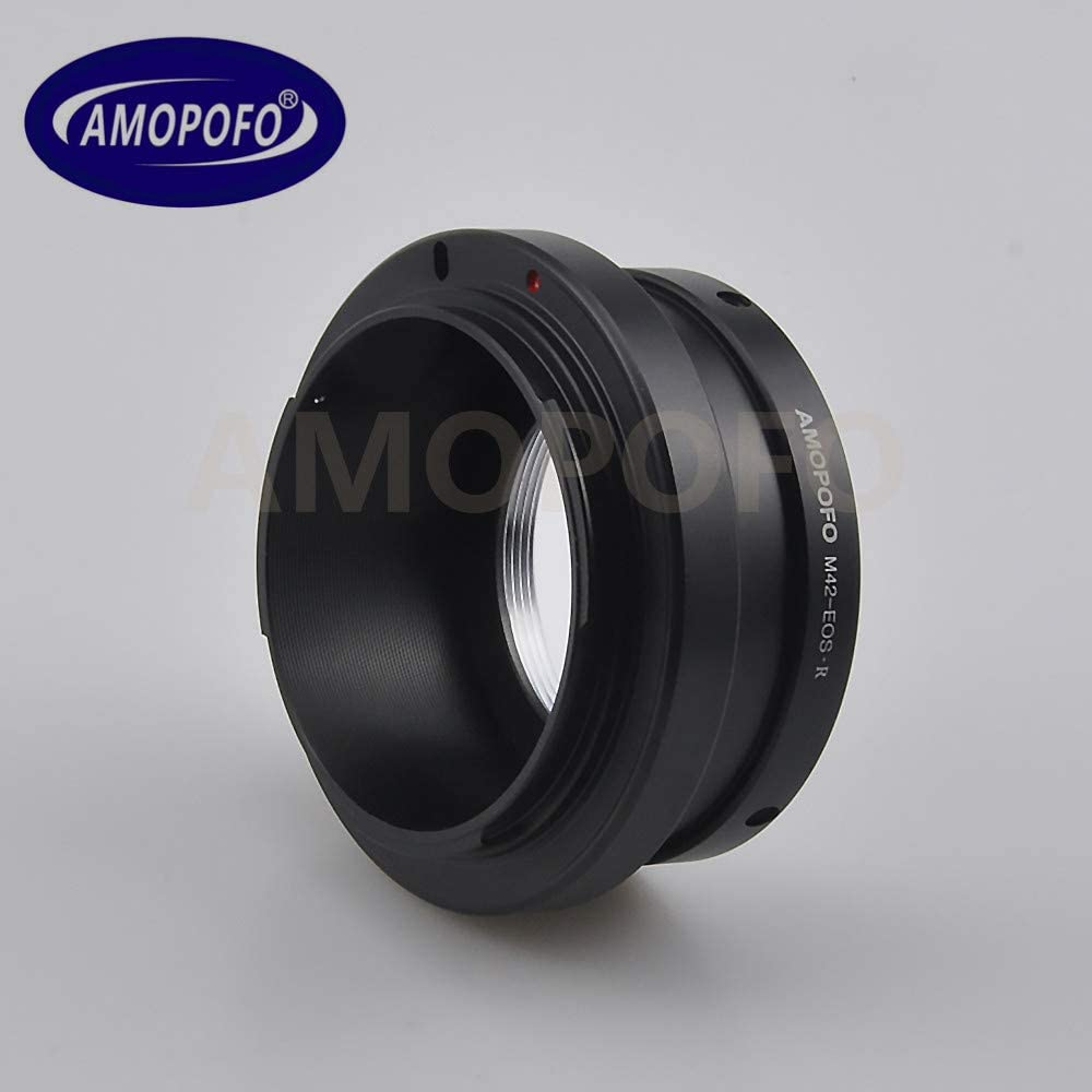 M42 to EF R Adapter M42 Screw Mount Lens to for Canon EOS R Full Famer Camera
