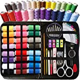 ARTIKA Sewing KIT, Premium Sewing Supplies, Mini Sewing kit, Most Useful Colors, Extra 40 Quality Sewing pins, Travel, Kids, Beginners and Home (Rainbow)