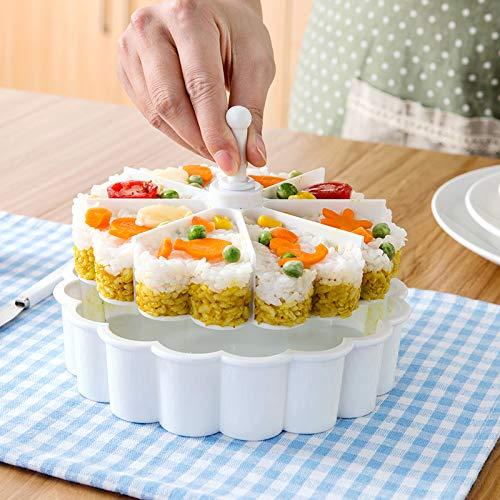 Modenny Love Molde de arroz Bola de arroz para niños Sushi Bento Gadget Utensilios de Cocina creativos Hornear Abrasivos de...