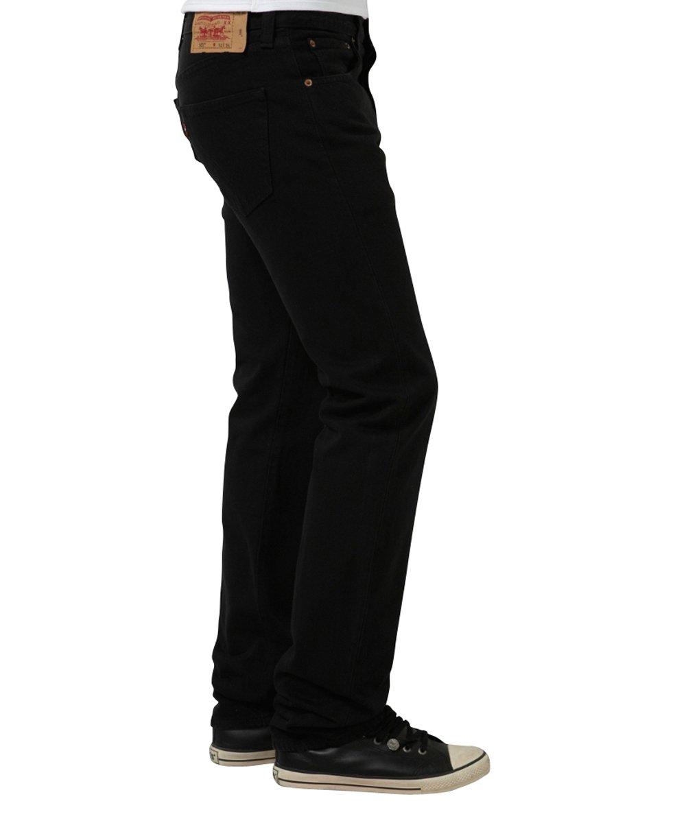 Levi's Men's 501 Original Fit Jean, Black, 44x32 by Levi's (Image #3)