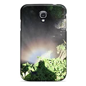 Awesome Devil's Troath Cave Flip Case With Fashion Design For Galaxy S4