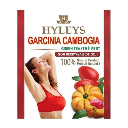 Amazon Com Hyleys Garcinia Cambogia Goji Berry Tea 25 Tea Bags