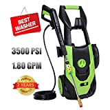 Best Pressure Washers - PowRyte Elite 3500 PSI 1.80 GPM Electric Pressure Review