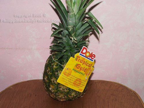 DOLE PINEAPPLE TROPICAL GOLD FRESH FRUIT PRODUCE EACH