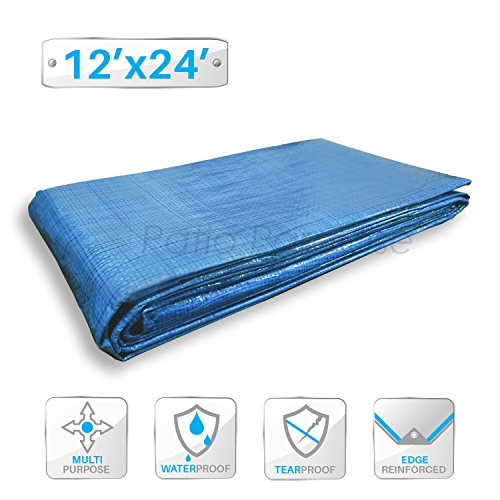 Cheap  Patio Paradise 12' x 24' General Multi-Purpose Tarpaulin Canopy Tent Shelter Waterproof..