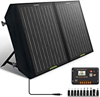 ECO-WORTHY 60W 120W Foldable Solar Panel Charger for Portable Power Station & RV Battery,Solar Charger for...
