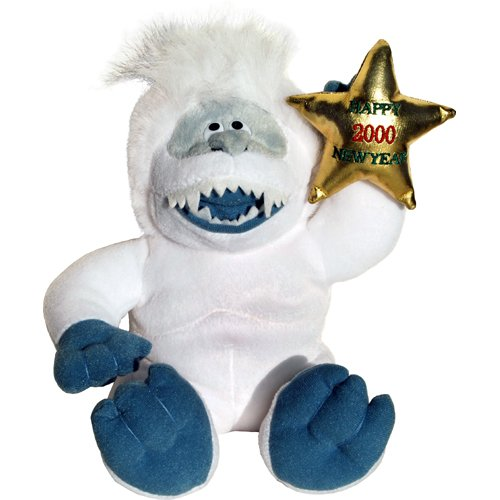 Abominable Snowman Bumble Yeti with CVS Logo 10 inch Beanie Plush - Rudolph Island of Misfit Toys