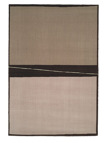 Calvin Klein Rugs Loom Engineered, Taupe, 5' 6