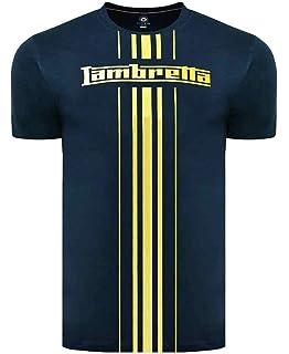 Lambretta-clothing - Camiseta - para hombre Verde caqui XXXXL: Amazon.es: Ropa y accesorios