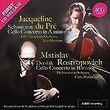 #8: Schumann: Cello Concerto in A minor; Dvorak: Cello Concerto in B minor