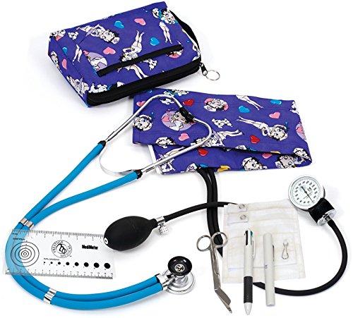 - Prestige Medical Aneroid Sphygmomanometer / Sprague-rappaport Nurse Kit A5-Betty Boop Colored Hearts