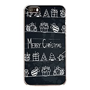 "Disagu Design Protective Case para Apple iPhone 5s Funda Cover ""Merry X-Mas Tafel"""